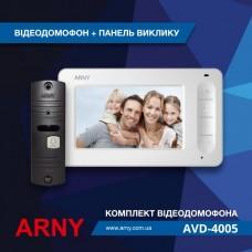 Комплект видеодомофона Arny AVD-4005