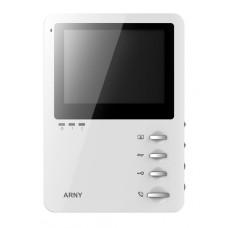 """4"""" видеодомофон Arny AVD-410M White"""