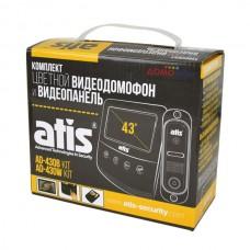 Комплект видеодомофона ATIS AD-430B Kit box