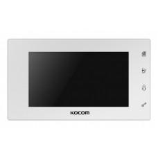 "7"" видеодомофон Kocom KCV-504 white"