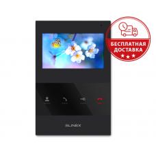 "4,3"" видеодомофон Slinex SQ-04 Black"