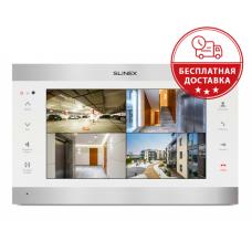 "10"" видеодомофон Slinex SL-10IPTHD White/Silver"