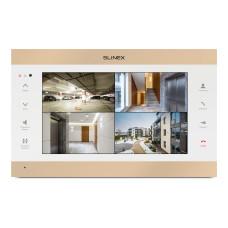 """10"""" видеодомофон Slinex SL-10IPT White/Gold"""