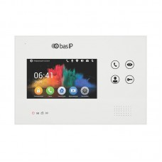 "4.3"" IP видеодомофон Bas-IP AG-04 White/Black"