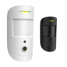Беспроводной датчик движения с фотокамерой Ajax MotionCam белый/черный