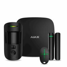 Комплект сигнализации Ajax StarterKit Cam Plus чёрный