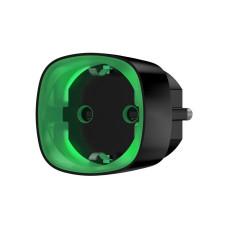 Радиоуправляемая умная розетка со счетчиком энергопотребления Ajax Socket черная