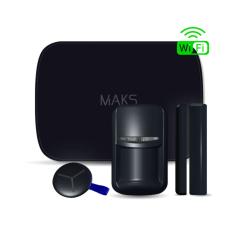 Комплект беспроводной сигнализации MAKS PRO WiFi S чёрный
