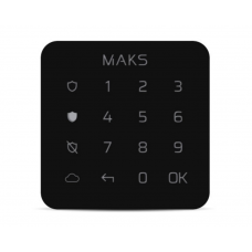 Клавиатура MAKS Keypad mini чёрная