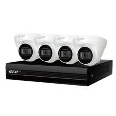 2.0Мп комплект видеонаблюдения Dahua EZIP-KIT/NVR1B04HC-4P/E/4-T1B20