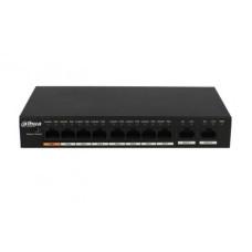 POE коммутатор на 8 портов Dahua DH-PFS3010-8ET-96